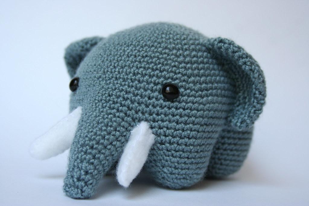 Uncinetto Amigurumi Elefante : Amigurumi elefante Lavi+ Flickr