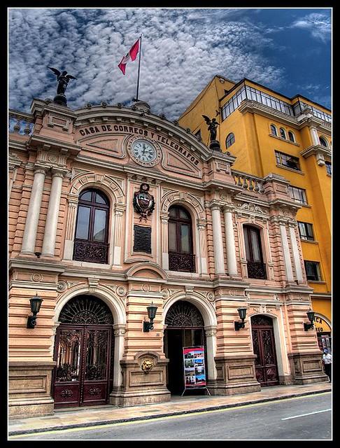 Casa De Correos De Lima Chimi Fotos Flickr
