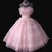Frothy Pink 1950's Prom dress