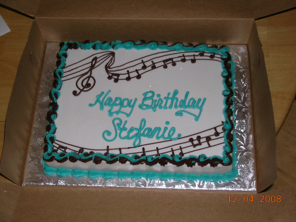 Birthday Cake Pictures With Song : Musical Birthday I made this for a co-workers daughter ...