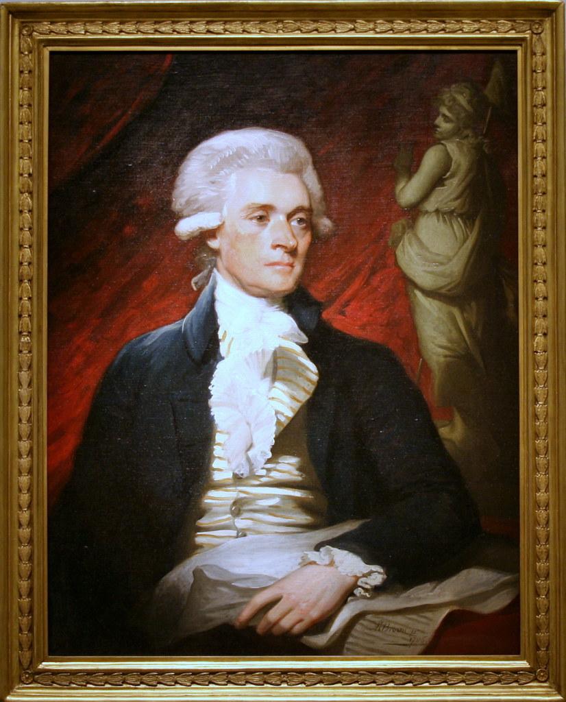 Thomas Jefferson Thomas Jefferson 1786 Oil On Canvas