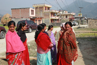 Group of wome in Kaski, Nepal | by World Bank Photo Collection