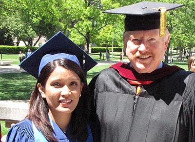 Convocation Speaker Elaine Quijano And Dean Ron Yates Flickr
