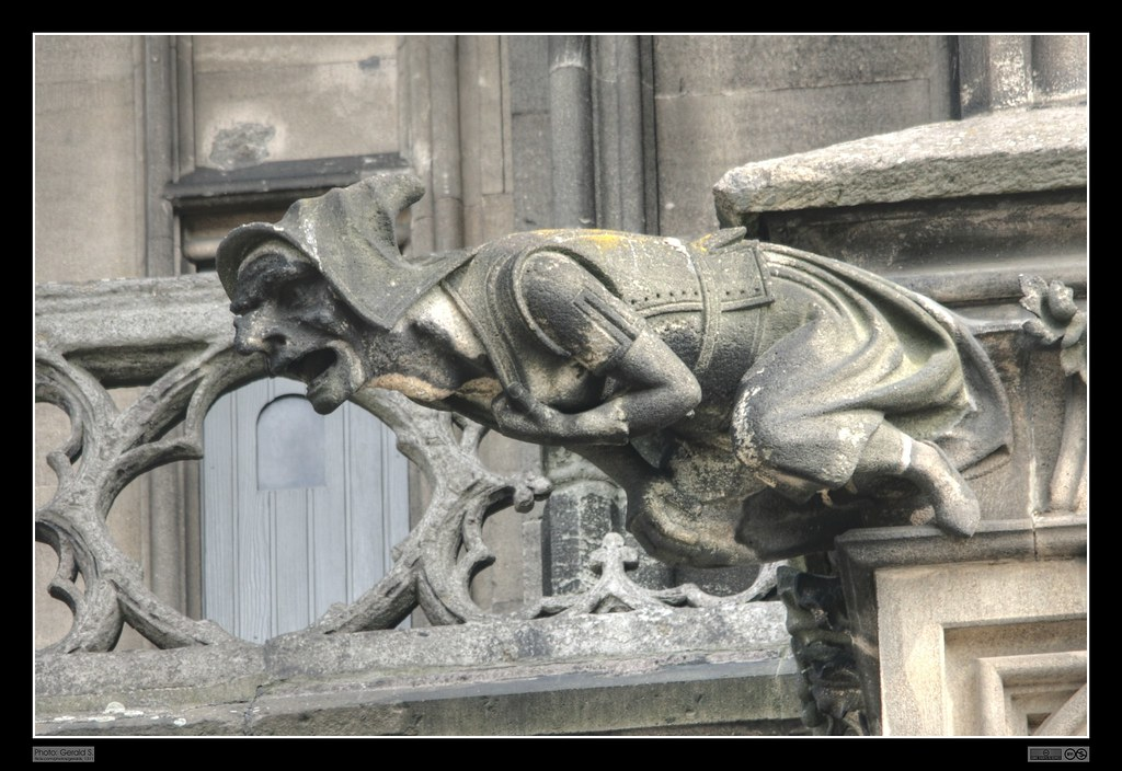 Gargoyle At Cologne Cathedral Wasserspeier Am K 246 Lner Dom