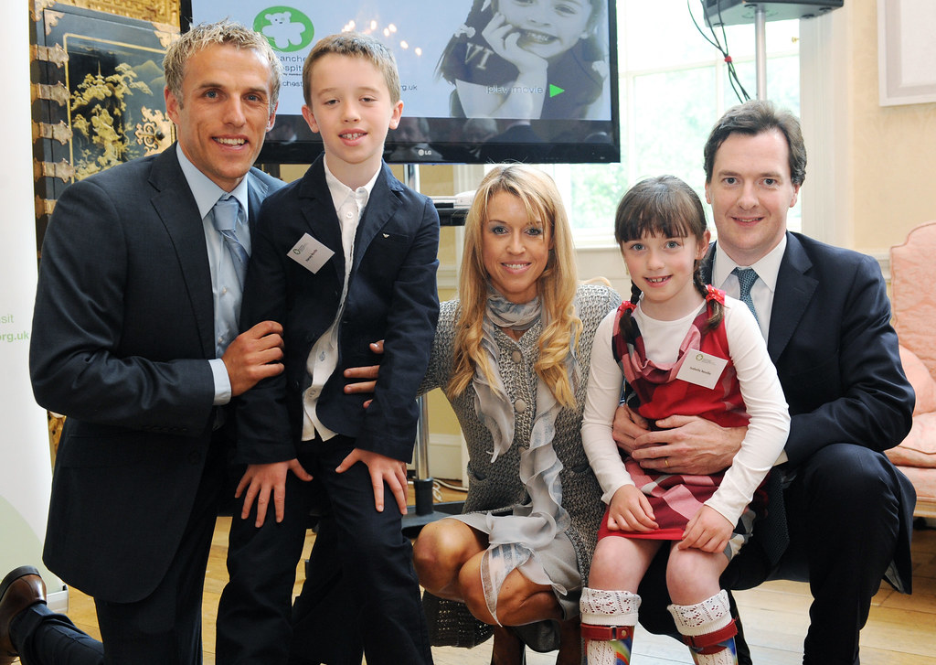 Chancellor Meets The Neville Family At No11 As Part Of A C
