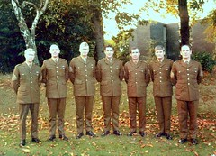 WO1s of the Irish Guards meeting 1980 Alexander Bks - Guards Depot - Pirbright