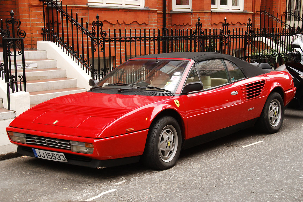 1985 ferrari 3 2 mondial cabriolet found this 1985 ferrari flickr. Black Bedroom Furniture Sets. Home Design Ideas
