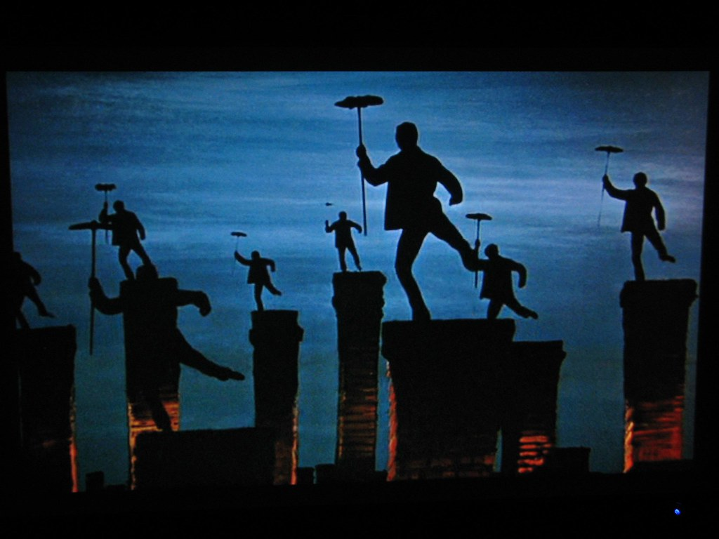 Mary Poppins Chimney Sweep Silhouette Images Name the movie   This ...