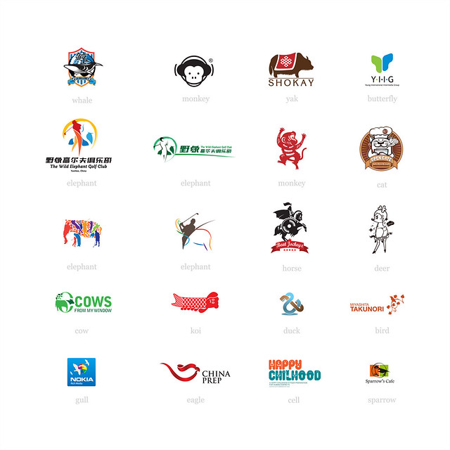 logos vii those animals are living in the logo village flickr
