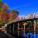 Concord Bridge in Autumn