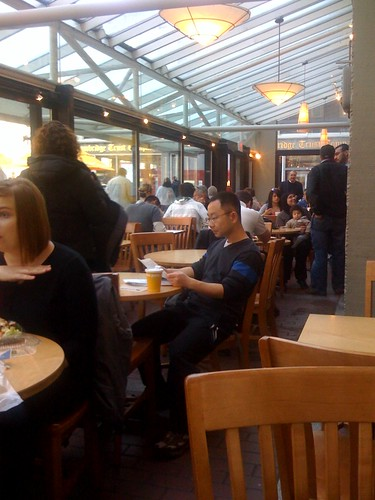 Au bon pain -- Harvard Sq | by scriptingnews