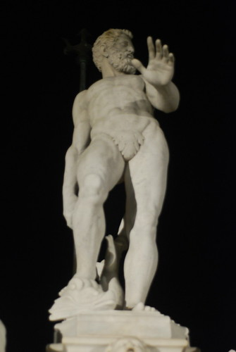 Statue Man.