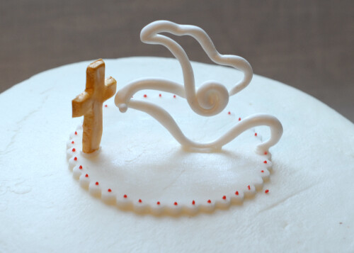 Confirmation Cake Toppers