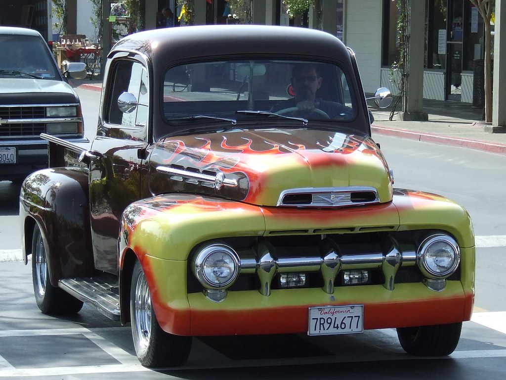 New Ford Trucks >> 1951-52 Ford Pickup (Custom) '7R94677' 1 (JC)   Jack Snell ...
