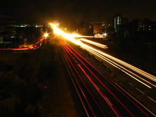 Light streaks on the highway | by HarshWCAM3