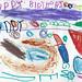 Gwen made Daddy a card (age 4)