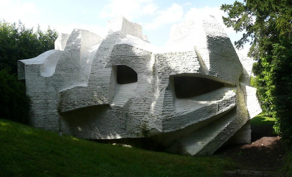 Andr bloc sculpture habitacle n 2 1964 meudon fran flickr - Maison de la nature meudon ...