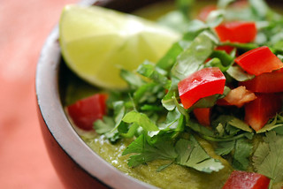 Raw Curried Green Soup | by swellvegan