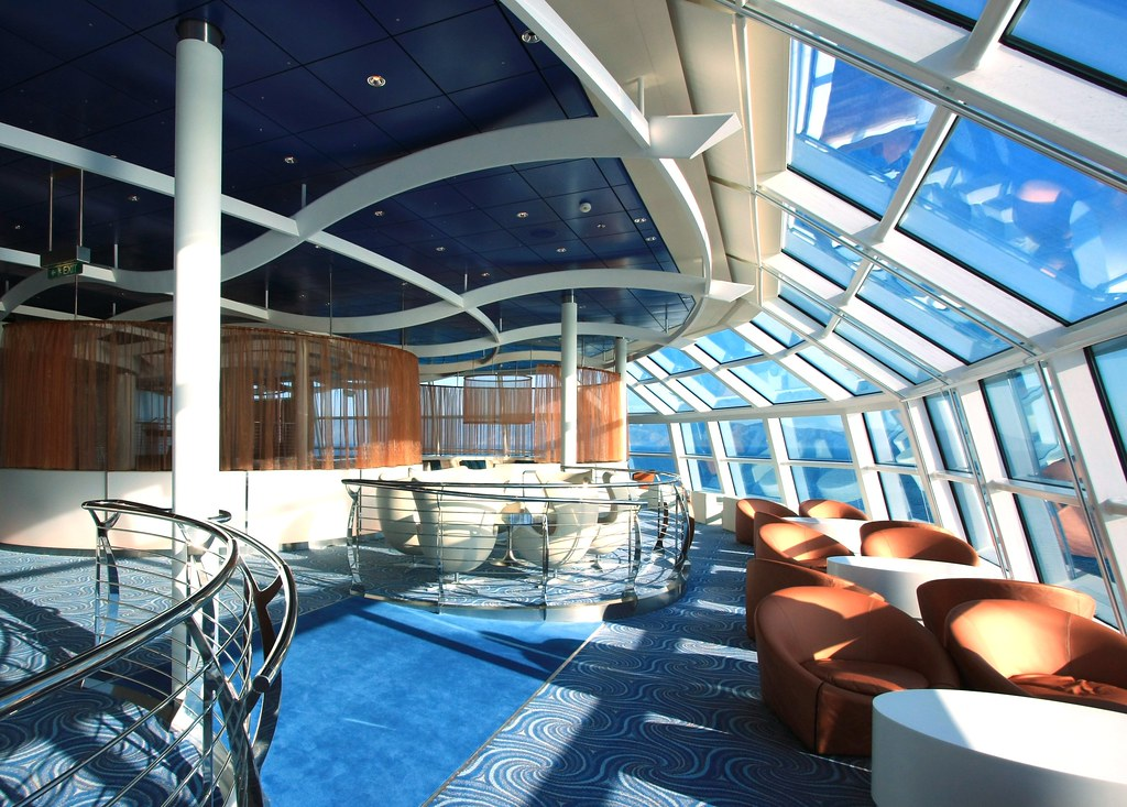 Celebrity Solstice - Sky Observation Lounge | Sky ...
