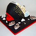 Titanic Cake - side view 1
