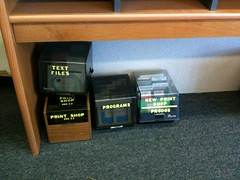 Apple II floppies