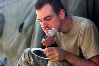 A clean shave | by The U.S. Army