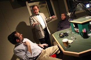 Mark Pazniokas, Jerry Franklin, Greg Hladky | by WNPR - Connecticut Public Radio