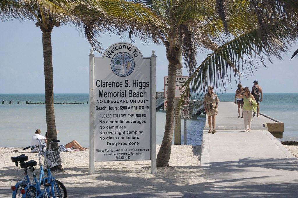 Clarence S Higgs Memorial Beach Key West Florida Prince David Of The South Flickr