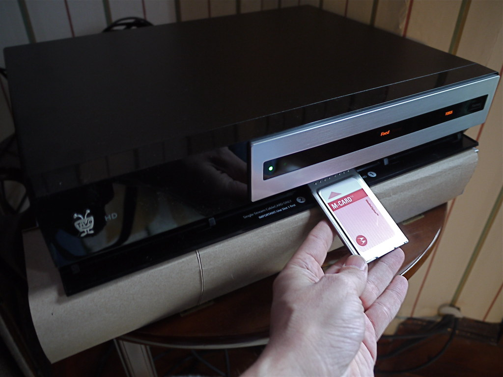 The Tivo Hd Only Needs One Multi Stream Cablecard The