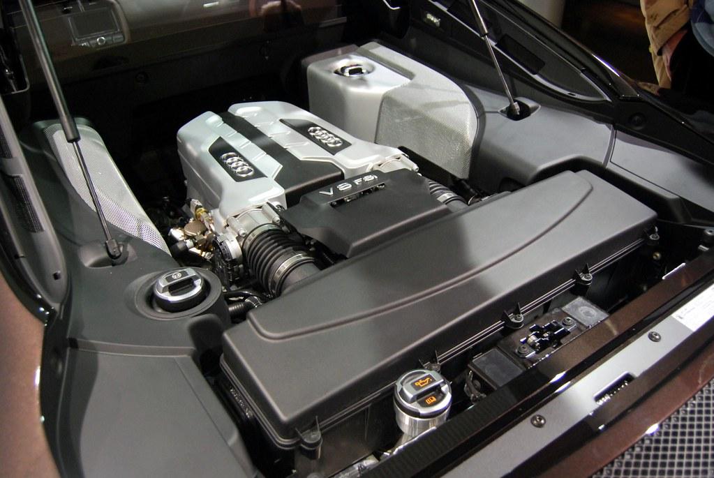 Audi R8 V8 Engine Bay Charlo Be Flickr