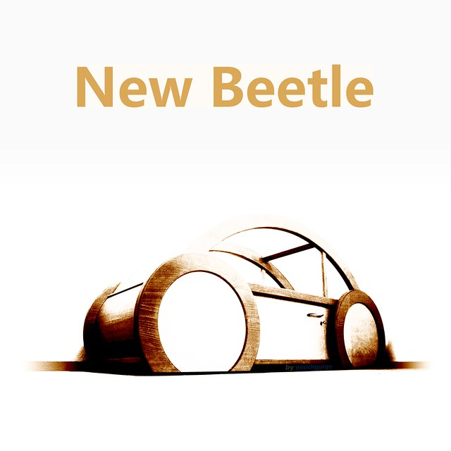 for sale my unique new beetle 1 2 sculpture want a 3d woo flickr. Black Bedroom Furniture Sets. Home Design Ideas