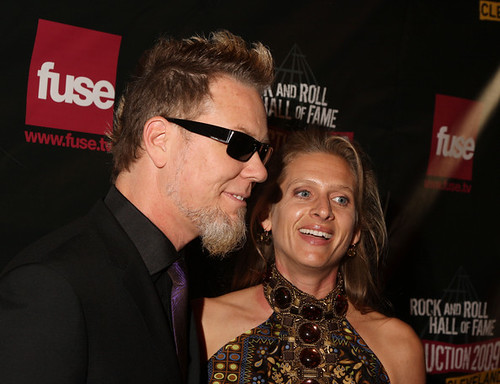 James hetfield and his wife | george metallica | Flickr