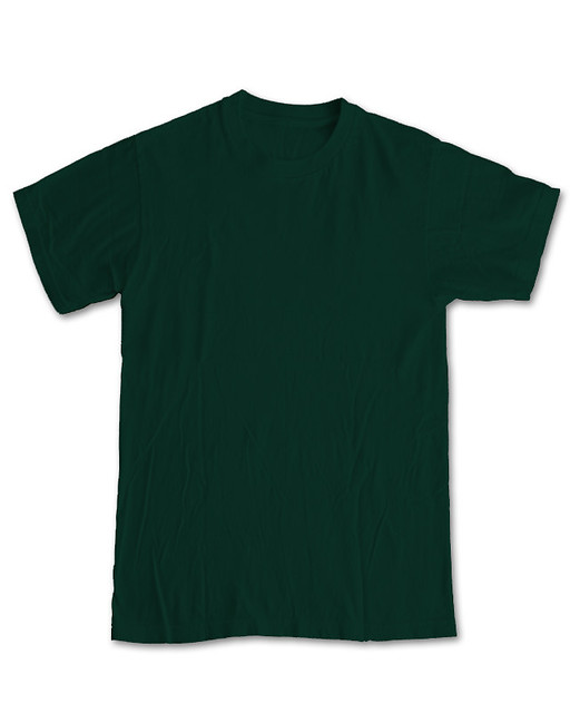 New Blank Front - Forest Green | Use for Threadless ...