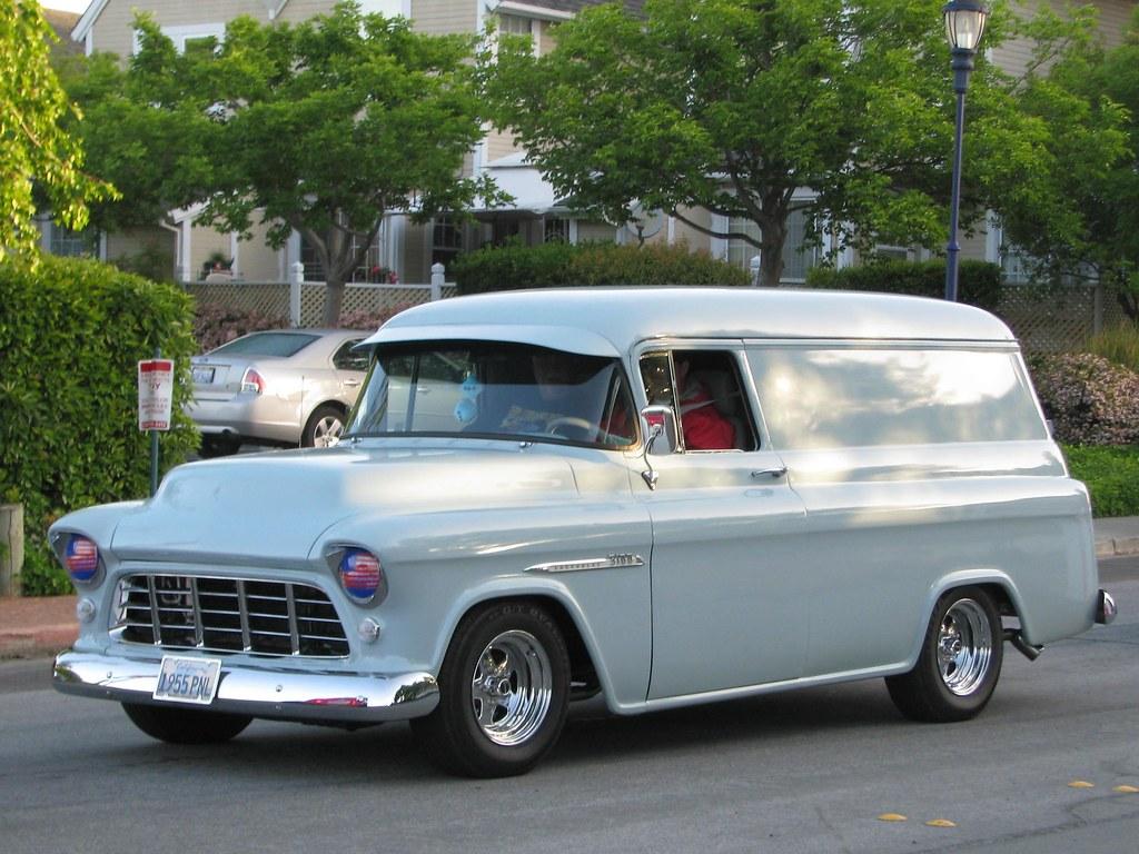 1955 Chevrolet Panel Sedan Custom 1955 Pnl Jack