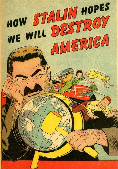 the cold war propaganda مشاهدة الفيديو most propaganda images from the cold war look outdated now, but the idea of embedding a message in cold war style could be more relevant than ever in propaganda of the modern.