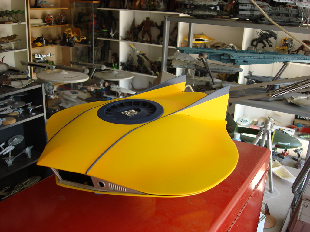 DSC05149   Flying Sub with pinstripes and shading, dry-fitte ...
