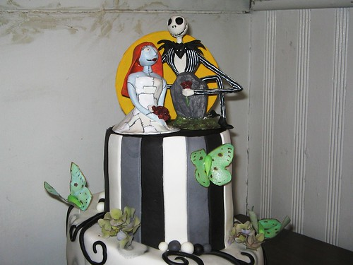 jack skellington and sally wedding cake topper skellington and sally flickr photo 16564