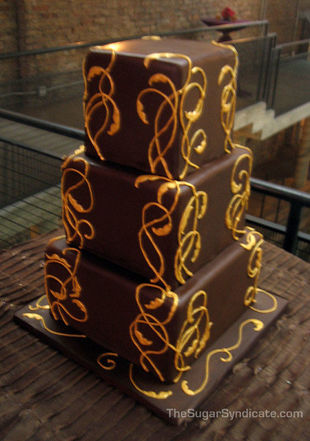 art nouveau wedding cake chocolate nouveau wedding cake 169 the sugar syndicate 10858