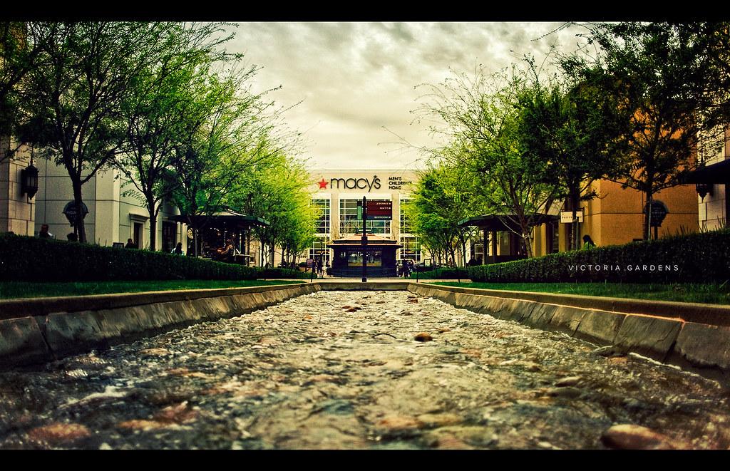 Victoria Gardens Victoria Gardens Is A Pedestrian Oriented Flickr