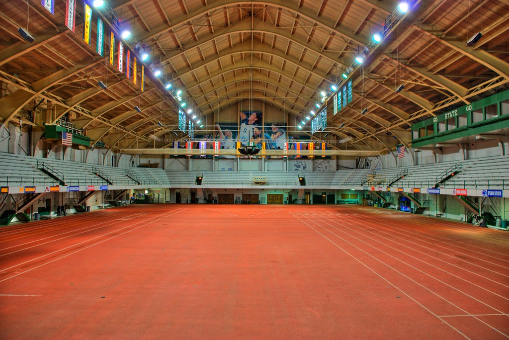 Jenison Field House | The old basketball arena at MSU. Now ...