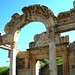 The Arch of Hadrian at Hadrian's Temple in Ephesus, Turkey