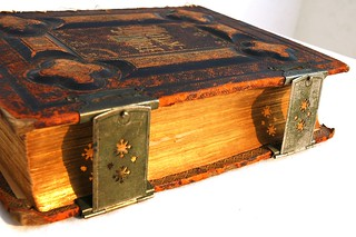 Antique Holy Bible, printed in 1885, with metal clasps, and leather binding, Puerto Vallarta, Jalisco, Mexico | by Wonderlane