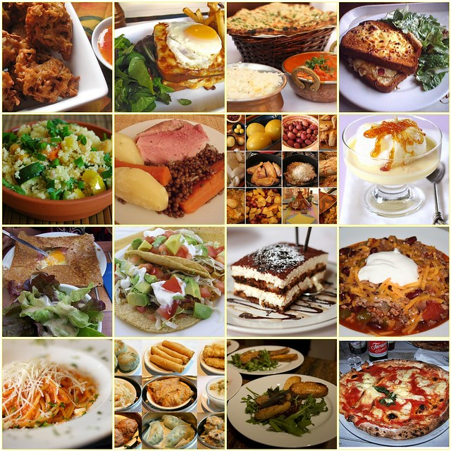 Different types of food 1 snacktime 2 jacques croque flickr - Different types of cuisines in the world ...