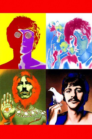 Beatles iphone wallpaper currently watching the beatles - Beatles iphone wallpaper ...