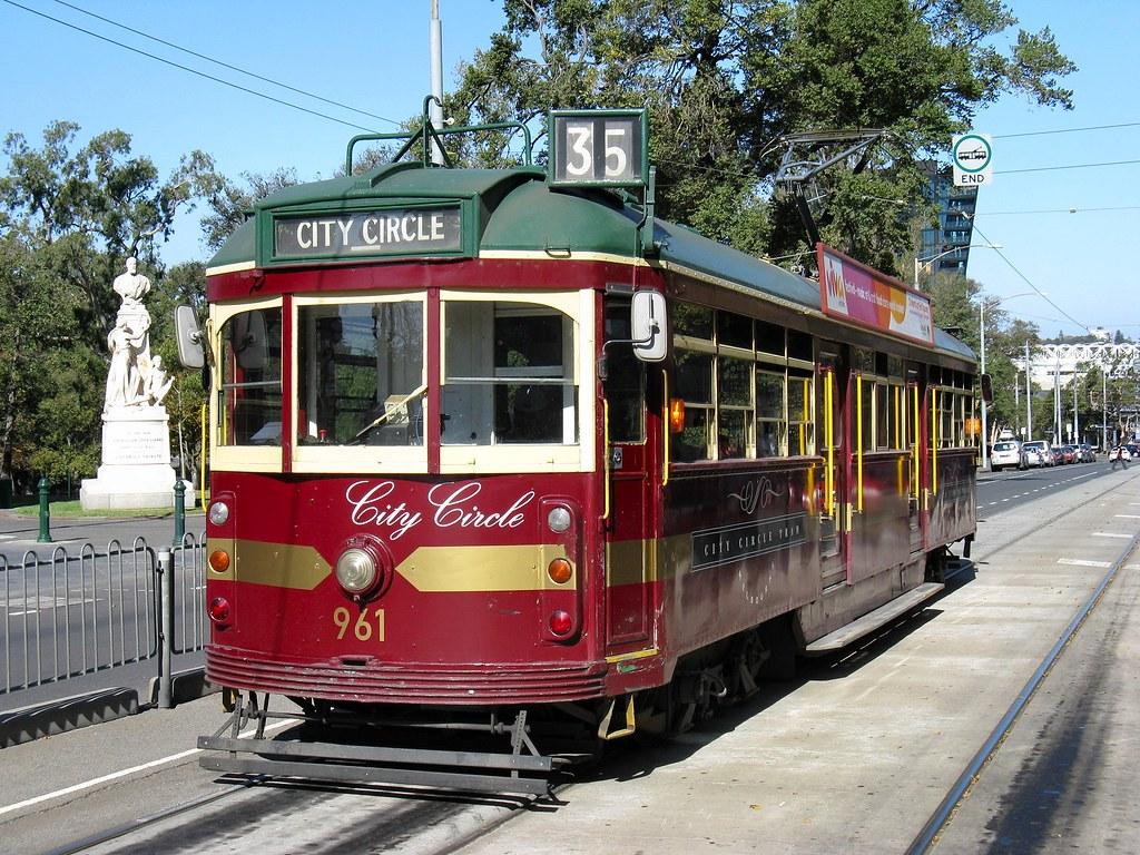 Melbourne City Tour Tram
