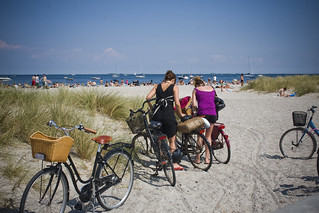 Beach Bicycle Parking | by Mikael Colville-Andersen