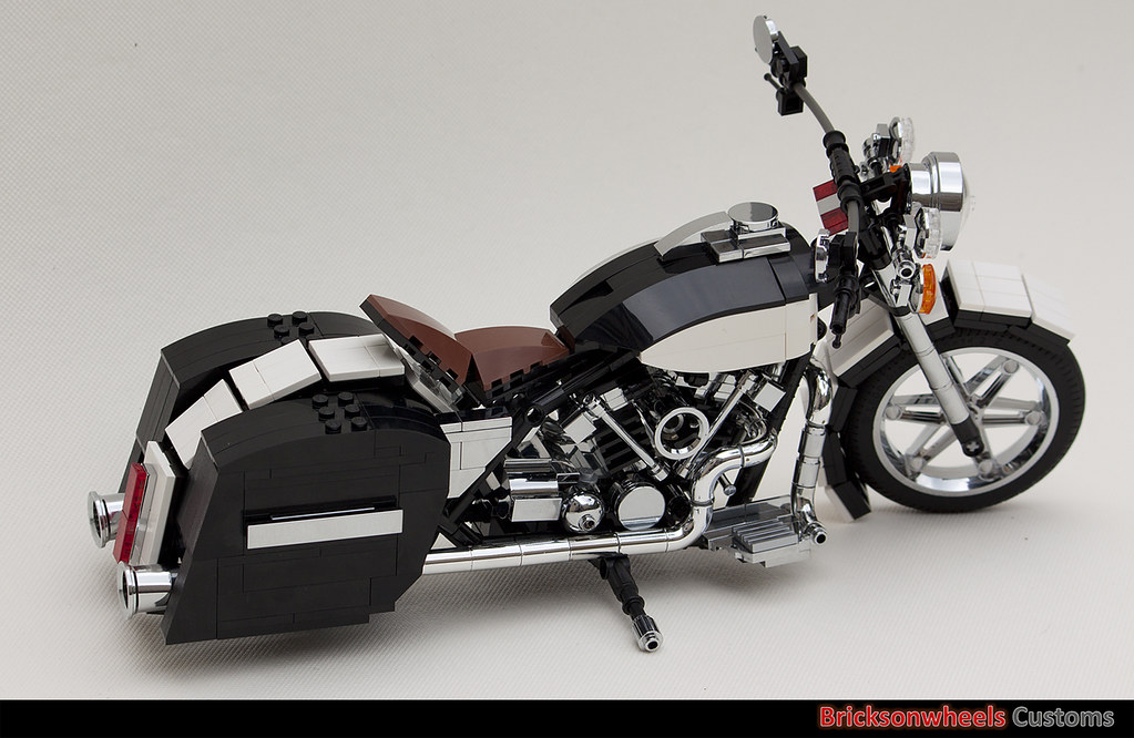 Lego Harley Davidson Motorcycle Instructions
