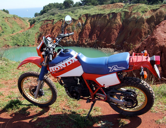 honda xl 600 paris dakar al laghetto di bauxite xl paris dakar flickr. Black Bedroom Furniture Sets. Home Design Ideas