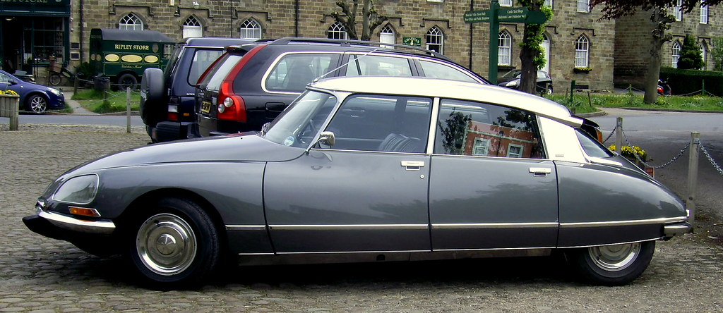 most beautiful car of all time citroen ds 23 the model s flickr. Black Bedroom Furniture Sets. Home Design Ideas