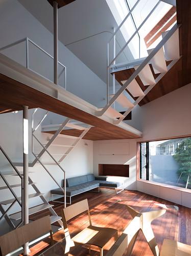 03 modern urban home design interior design staircase for Modern urban house plans